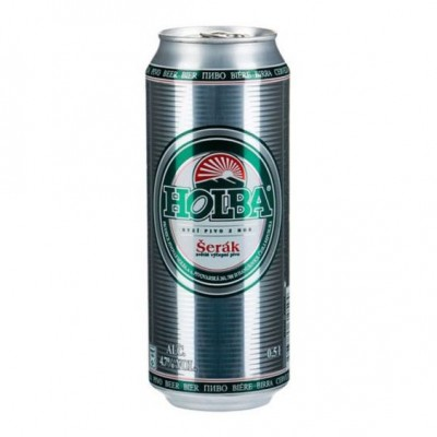 Bia Holba 4,7%–lon 500ml